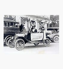 Women's Suffrage Movement in Oregon (September 23, 1916) Photographic Print