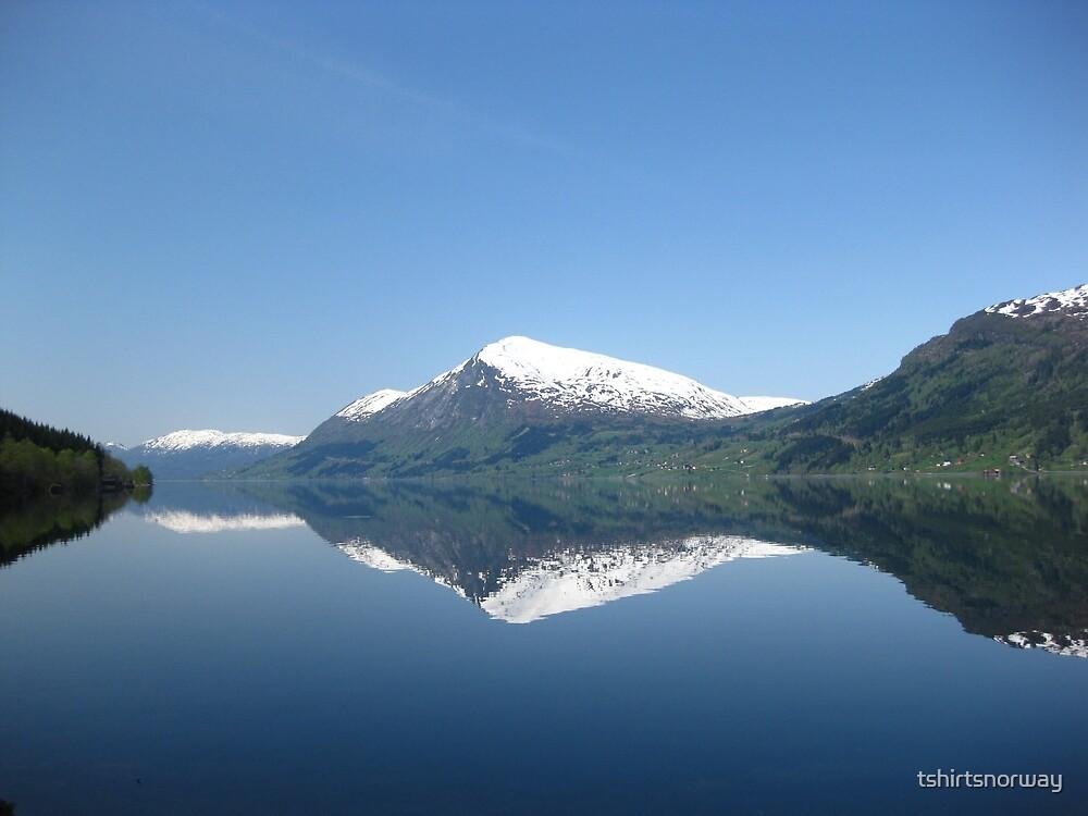 Jølstravatnet in Sogn og Fjordane, Norway by tshirtsnorway