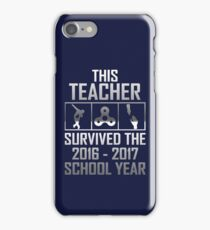 This Teacher 2016 2017 school iPhone Case/Skin