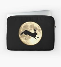 Hare and Moon Laptop Sleeve