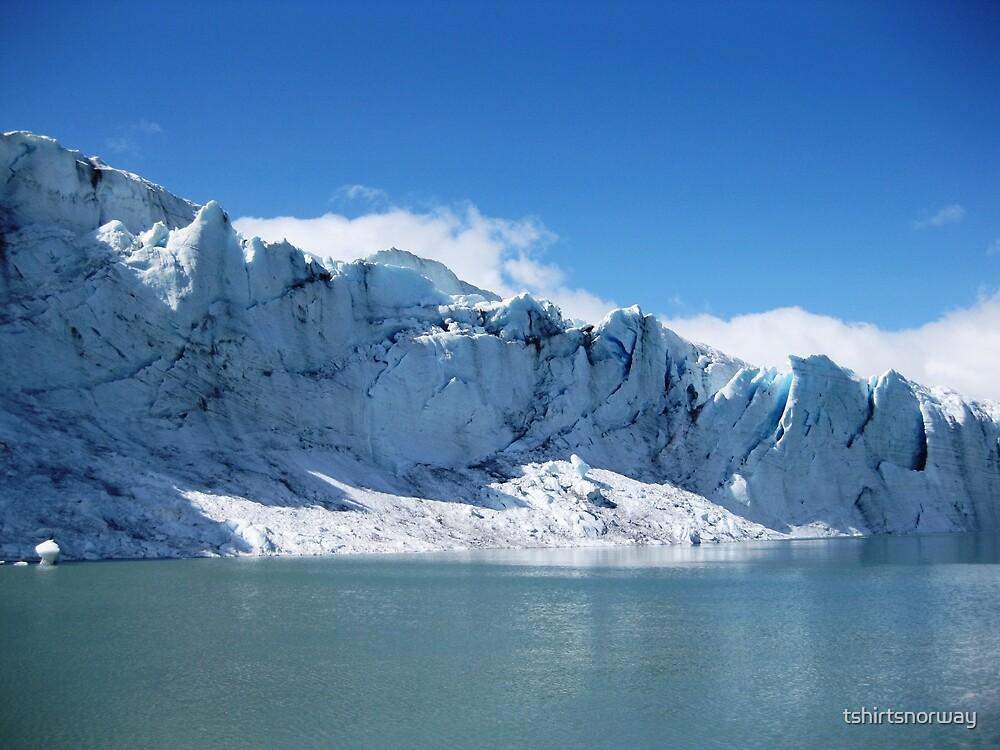 Jostedalsbreen glacier in Sogn og Fjordane, Norway by tshirtsnorway