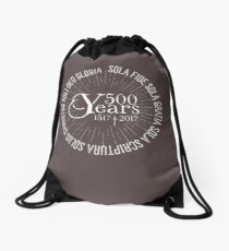 500 YEARS Reformation Celebration 5 Solas Drawstring Bag