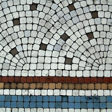 Mosaic tiles by chihuahuashower