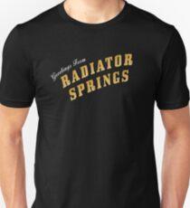 Greetings from Radiator Springs Unisex T-Shirt