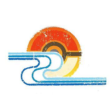 Pokemon Beach Tee by RecycleBin