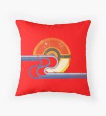 Pokemon Beach Tee Throw Pillow