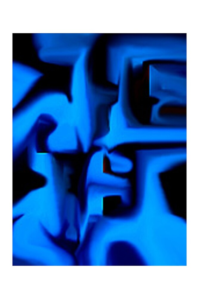 Blue Cube by Keith Russell
