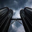 Petronas Twin Towers by David Sundstrom