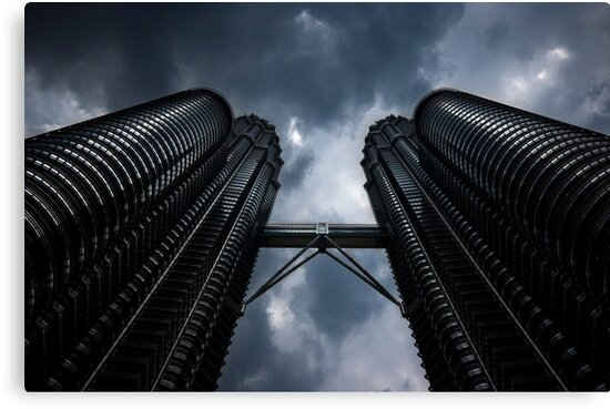 Petronas Twin Towers by David Sundstrom