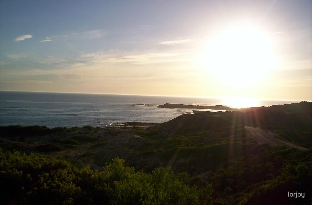 sun set  by lorjoy