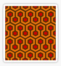 Horror Carpet Pattern Sticker