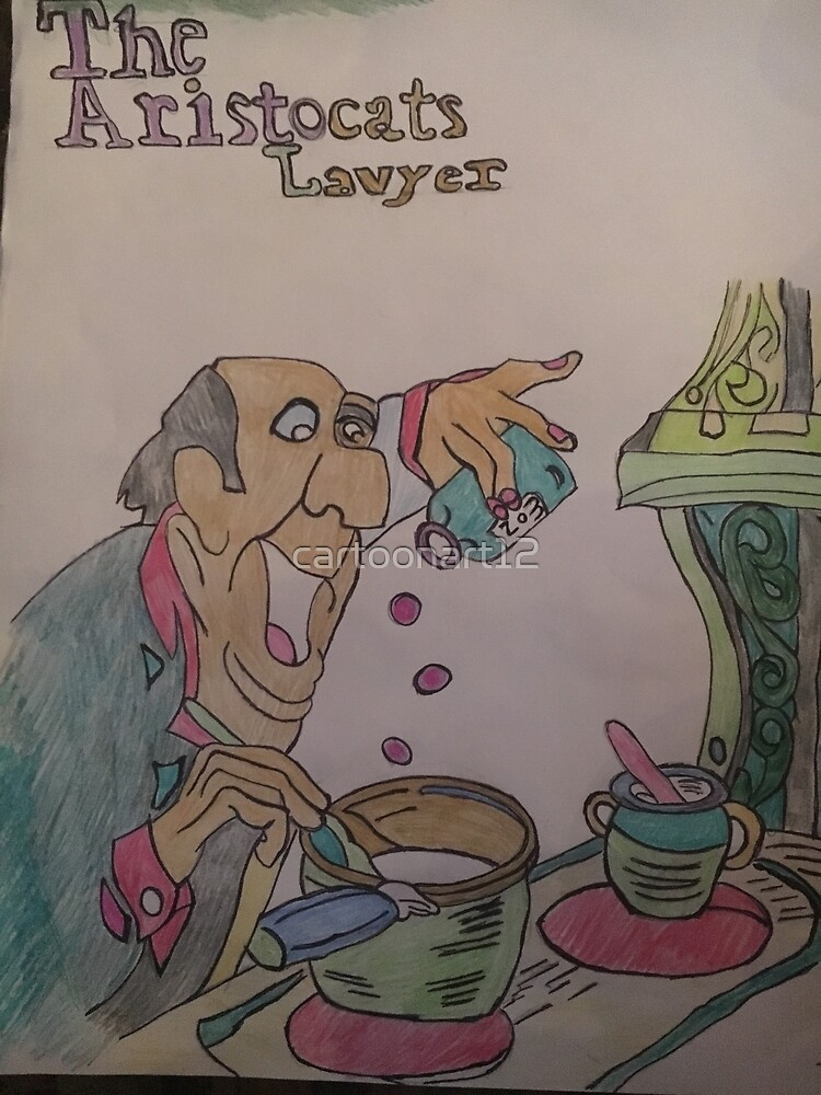 The Aristocrats Lawyer by cartoonart12