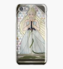 The Sacred Blade Waits iPhone Case/Skin