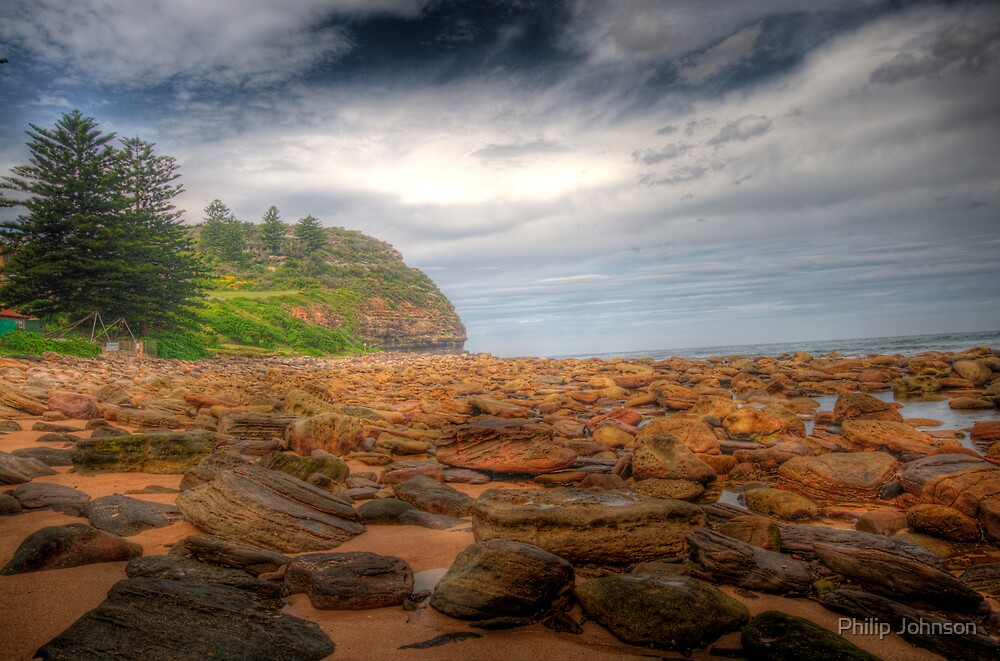 Sydney Beaches - Avalon Beach - The HDR Series - Sydney Australia by Philip Johnson