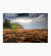 Sydney Beaches - Avalon Beach - The HDR Series - Sydney Australia Photographic Print