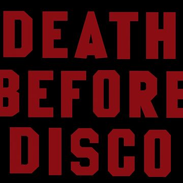 Death Before Disco 2 by darkdad