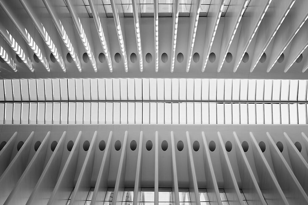 New York Oculus Abstract  by Yurikllozano