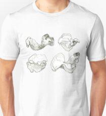 Four Views of a Mushroom Unisex T-Shirt