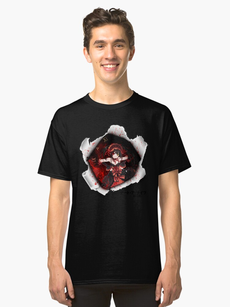 kurumi-Date a live  Classic T-Shirt Front
