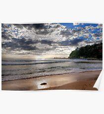 Sydney Beaches - Palm Beach, - The HDR Series - Sydney,Australia Poster