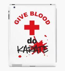 Karate iPad Case/Skin