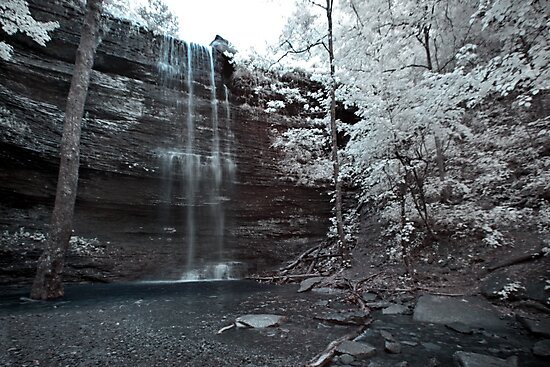 Cornelius Falls, Heber Springs - Infrared 2 by mal-photography