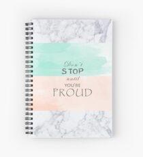 Graphic design Spiral Notebook