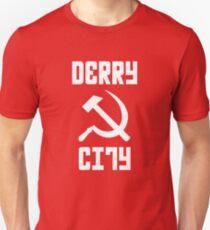 Derry City FC - Hammer & Sickle T-Shirt Unisex T-Shirt