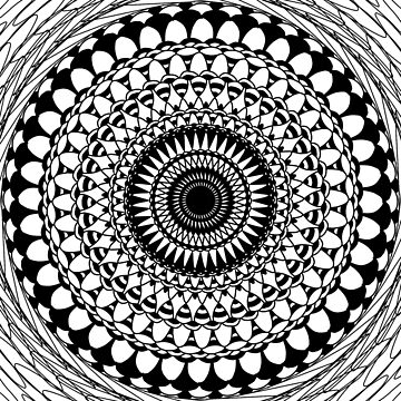 Black & White Abstract by TheGayToGayLife