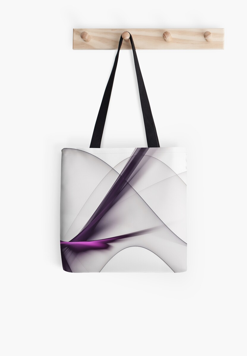 Purple Whisper Abstract Modern Design by ColoringPress
