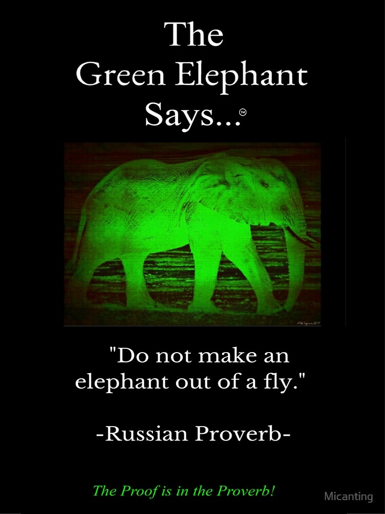 Russian Proverb by Micanting