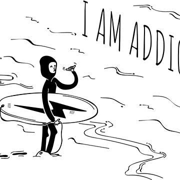 Surfing addict by B00P