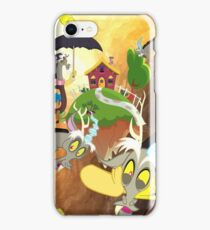 my little pony discord realm watercolor iPhone Case/Skin