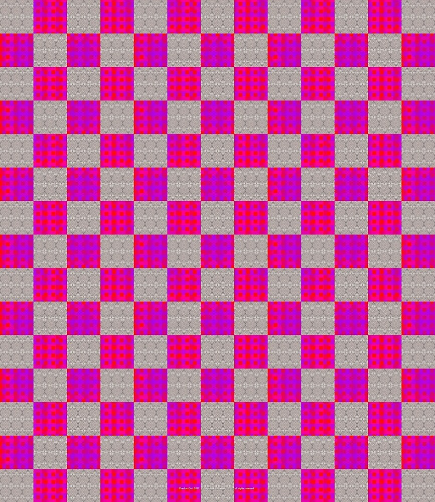 Checker Out by StudioBoomBoom