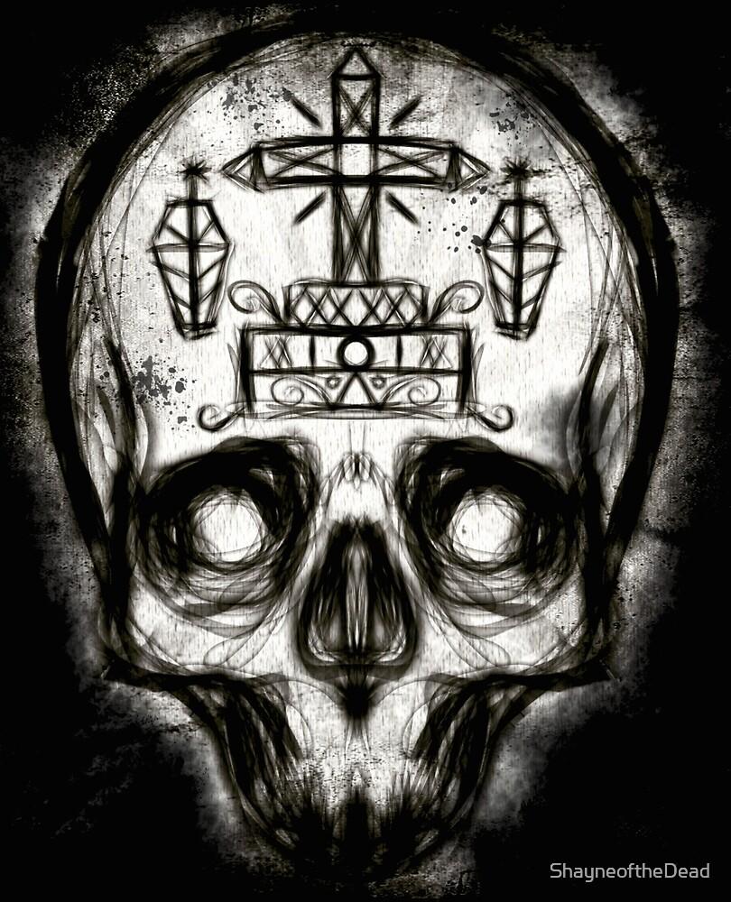 Voodoo Skull by ShayneoftheDead