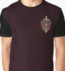 KGB Vintage Pocket Emblem 01 Graphic T-Shirt