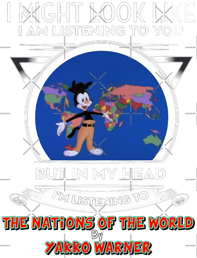 I Might Look Like I'm Listening To You... (Nations of the World) by Traillblazer84
