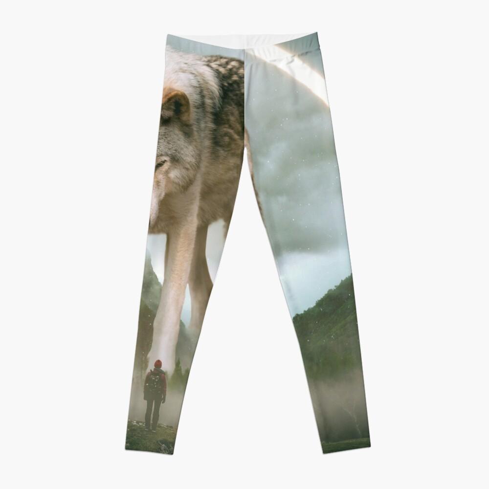 aegis | wolf Leggings