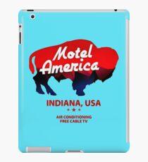 motel bull iPad Case/Skin