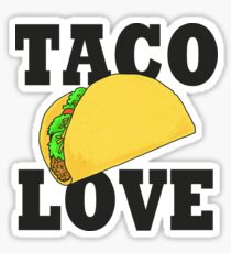 TACO LOVE Sticker