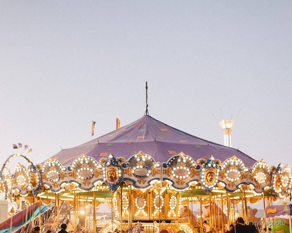 Carnival Merry-Go-Round by brimariephoto