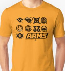 [ARMS] Character Icons T-Shirt Unisex T-Shirt