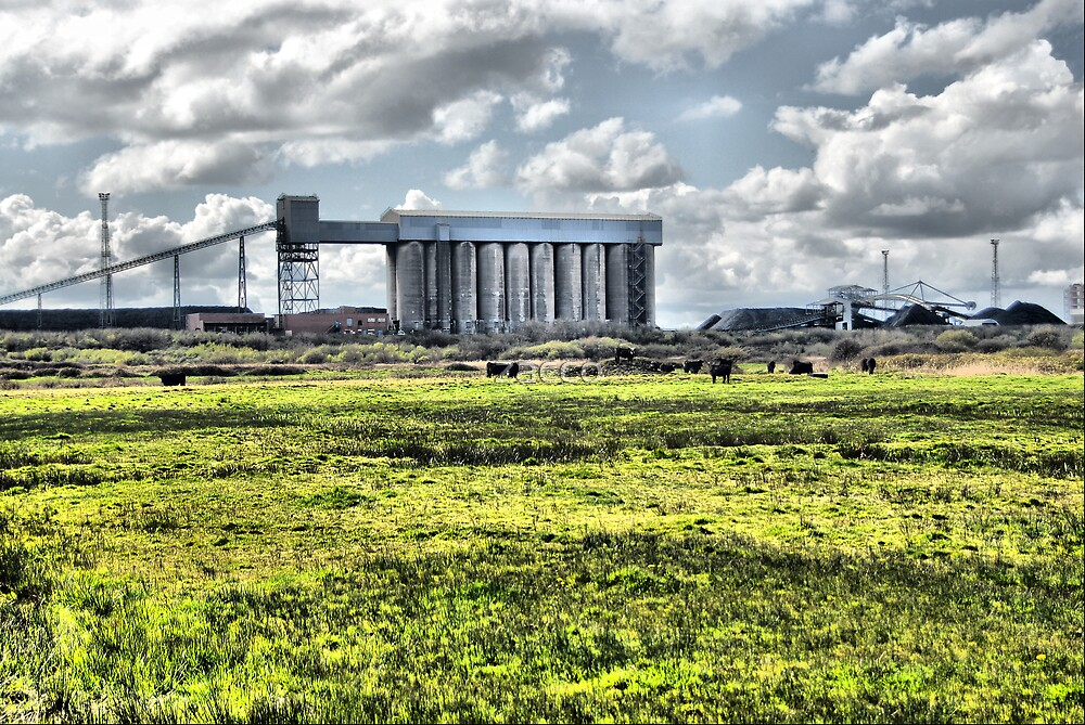 steelworks port talbot wales hdr by zacco