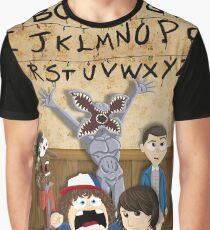 Stranger Things cartoon mash up Graphic T-Shirt