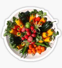Fresh Peppers Sticker