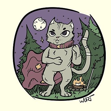 Fightin' Cat by WurtIllustrates