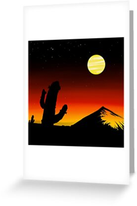 Cactus Mornings by Knightosity