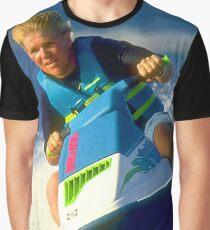 JD on a Jet Ski Graphic T-Shirt