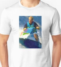 JD on a Jet Ski Unisex T-Shirt