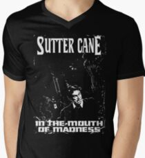 Sutter Cane's In The Mouth Of Madness Men's V-Neck T-Shirt